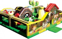 Little Farm with pop ups and slide