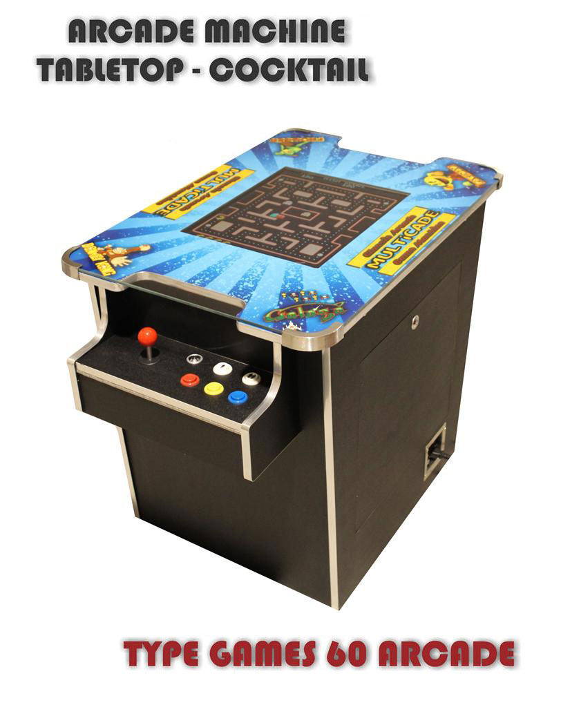 60 games in 1 - Pinball machine hire melbourne