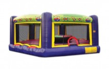 Gladiator Jumping Castle