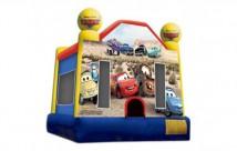 Disney Cars Jumping Castle