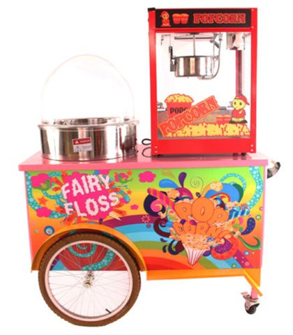 popcorn hire machine
