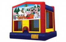 Christmas Jumping Castle