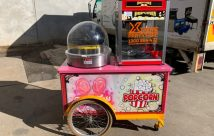 fairyfloss machine and popcorn machine hire melbourne